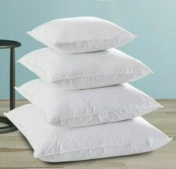 100% Goose Feather & Down Blend Cushion Insert 50, 55, 60cm
