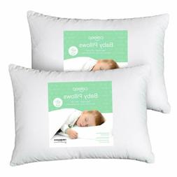 Celeep Baby Toddler Pillow Set - 13 x 18 Inches Toddler Bed