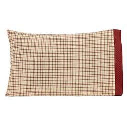 VHC Brands Rustic & Lodge Bedding - Tacoma White Pillow Case
