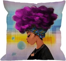 HGOD DESIGNS African Pillow Covers Decorative African Women