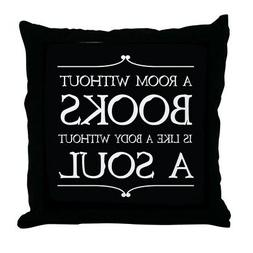 CafePress Book Quote Gift Decor Throw Pillow