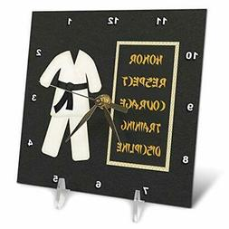 3dRose dc_180798_1 Karate Karategi Uniform Black Belt Honor