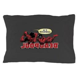 """CafePress Deadpool Awesome Standard Size Pillow Case, 20""""x30"""