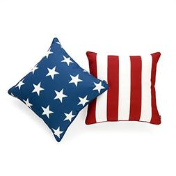 Hofdeco Decorative Throw Pillow Cover INDOOR OUTDOOR WATER R