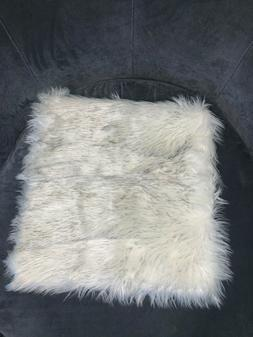 Deluxe Home Decorative Super Soft Faux Fur Pillow Cover Cush