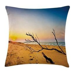 Driftwood Throw Pillow Cases Cushion Covers Ambesonne Home D