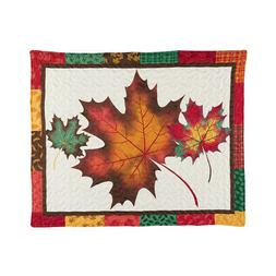 Fall Leaves Patchwork Pillow Sham