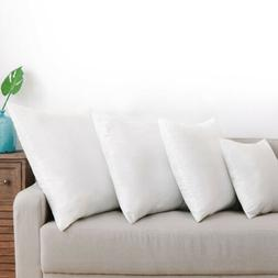 Feather Down Blend Bed Pillows 100% Cotton Cover Sleeping Pr