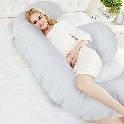 Full Body Giant Pregnancy Pillow with Case for Maternity Pre