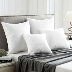 Goose Duck Down Feather Pillows for Sleeping Pillow Inserts