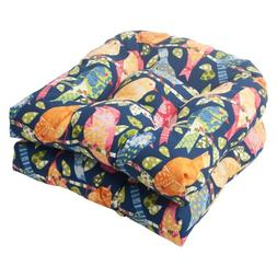 Pillow Perfect Indoor/Outdoor Ash Hill Wicker Seat Cushion,