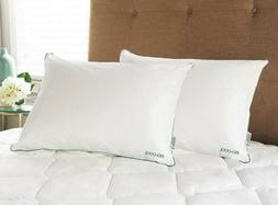 Iso-Cool Bed Pillows 2 Pack Microfiber Hypoallergenic Outlas