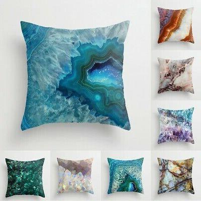 "18"" Marble Pillow Case Cover Waist Cover Home Decor"
