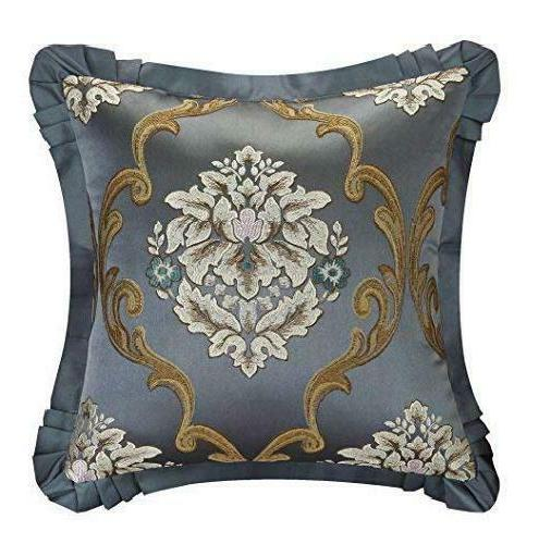 Chic Home 9 Piece Aubrey Upholstery Set And Pillows Ensemble