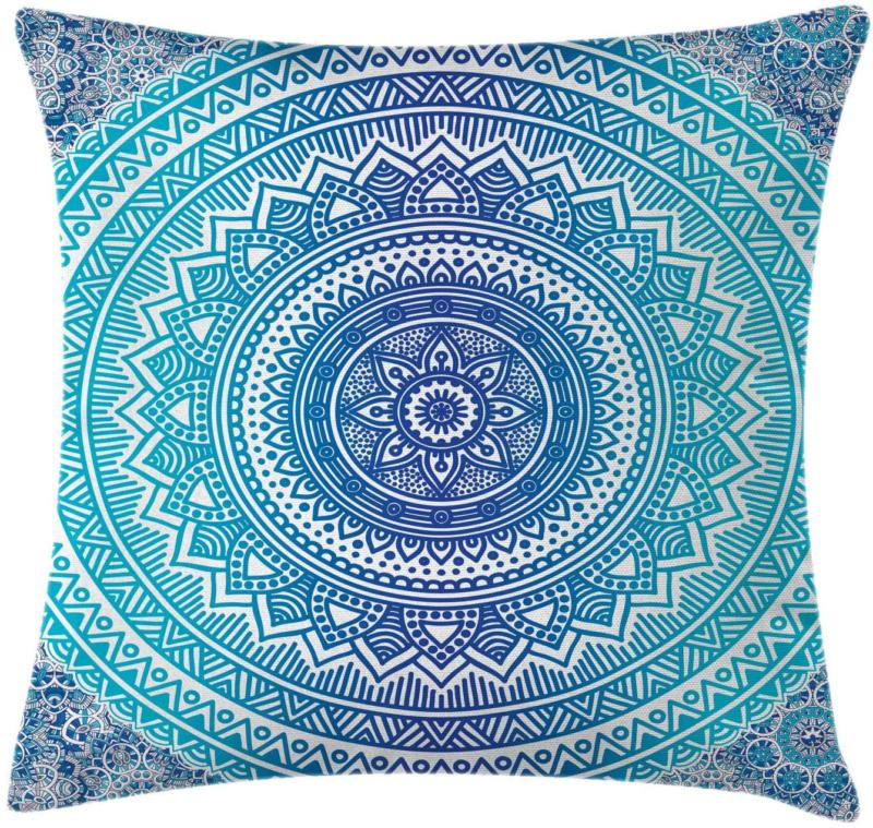ethnic throw pillow cushion cover universe cultural