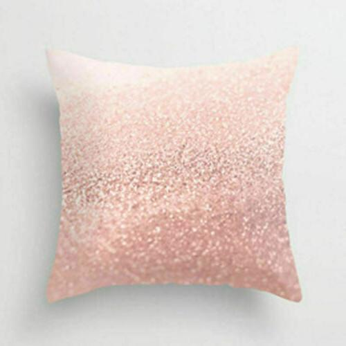 Pink Polyester Cushion