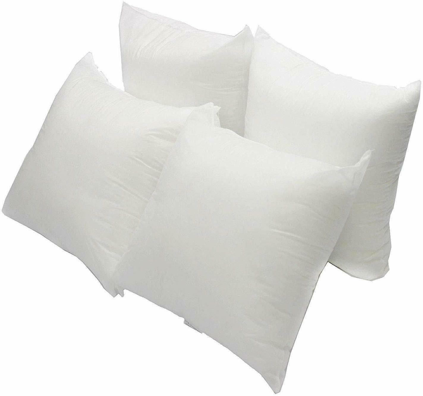 Mybecca Euro Pillow Form Insert ALL SIZES Made In USA