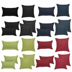Linen Cushion Covers Square Throw Pillows Cover Case