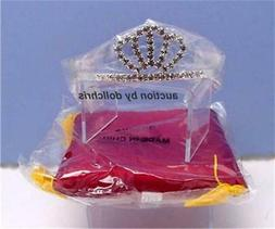 """Stardust Classics Princess Crown Royal Pillow for 18"""" Americ"""