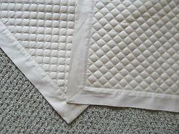 Charter Club Quilted King Pillow Shams Pair Damask Off White