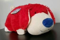 Pillow Pets Red White Blue Stars Patriotic U.S.A. Dog Puppy