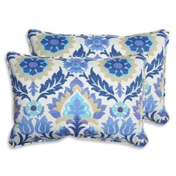 Pillow Perfect Outdoor Santa Maria Rectangular Throw Pillow,