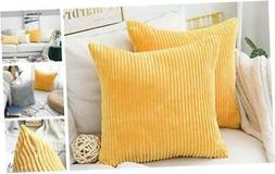 Set of 2 Spring Decor Pillows Sofa Cushion Covers Accent Pil