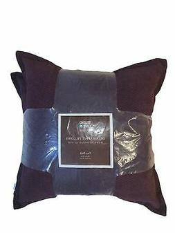 Studio Chic Home Decorative Pillows, 2 Pack, Down Alternativ