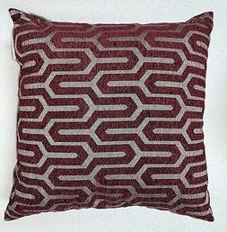Studioc Chic Home Decorative Pillows Berry 2 Pack