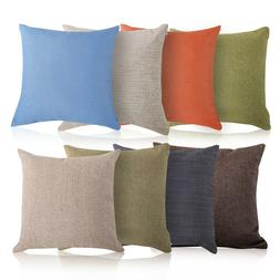 Throw Pillow Cotton Linen Home Decorative Sofa Waist Cushion