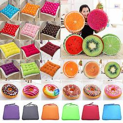 Tie On Seat Pads Dining Room Garden Kitchen Chair Cushions O