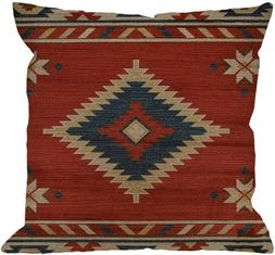 HGOD DESIGNS Vintage Southwest Native American Throw Pillow